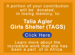 Talia Agler Girls Shelter